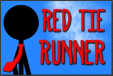 red tie runner